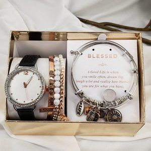 Watch and Bracelet set in Gift Box NWT